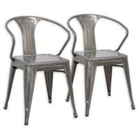 Lumisource® Waco Dining Chairs in Silver (Set of 2)