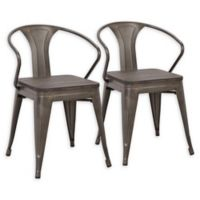 Lumisource® Waco Dining Chairs in Antique/espresso (Set of 2)