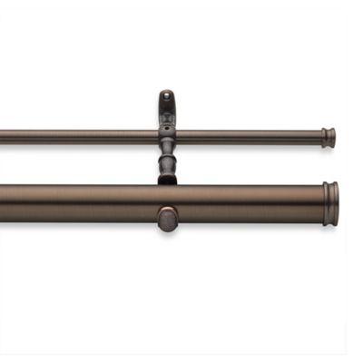 CambriaR Elite Complete 70 Inch 160 Double Drapery Rod In Oil
