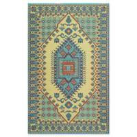 Mad Mats®® Oriental Turkish 4' X 6' Flat-weave Area Rug in Plum