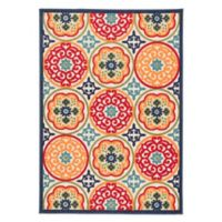 Jaipur Living 5'3 x 7'6 Indoor/Outdoor Multicolor Area Rug
