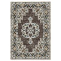 "Dynamic® Heriz 7'10"" X 10'10"" Powerloomed Area Rug in Grey"
