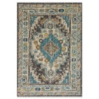 "Dynamic® Souk 5'3"" X 7'7"" Powerloomed Area Rug in Beige/grey"