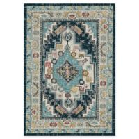 "Dynamic® Souk 5'3"" X 7'7"" Powerloomed Area Rug in Beige/blue"