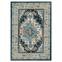 "Dynamic® Souk 7'10"" X 10'10"" Powerloomed Area Rug in Beige/blue"