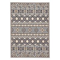 Jaipur Belize Irona 5'3 x 7'6 Indoor/Outdoor Area Rug in Grey/Multi