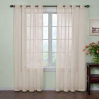 Buy 63 Inch Sheer Curtain Panel Bed Bath Beyond