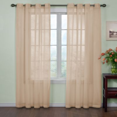 Arm And HammerTM Curtain FreshTM Odor Neutralizing 120 Inch Sheer Panel In