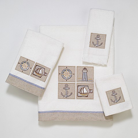 Avanti Saybrook Bath Towel in White