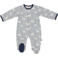 E=MC2 Size 3M Dino Magnetic Footie in Grey