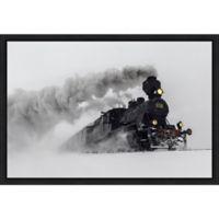 Amanti Art® Harriaho.com 1.88-Inch x 16-Inch Framed Canvas in Black