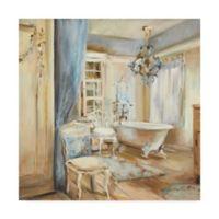 Trademark Fine Art Boudoir Bath I 24-Inch Square Canvas Wall Art