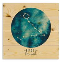 Designs Direct Pisces Zodiac Sign Pallet Wood Wall Art