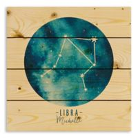 Designs Direct Libra Zodiac Sign Pallet Wood Wall Art