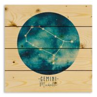 Designs Direct Gemini Zodiac Sign Pallet Wood Wall Art