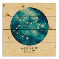Designs Direct Sagittarius Zodiac Sign Pallet Wood Wall Art