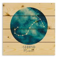 Designs Direct Scorpio Zodiac Sign Pallet Wood Wall Art