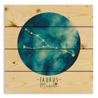 Designs Direct Taurus Zodiac Sign Pallet Wood Wall Art