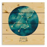 Designs Direct Virgo Zodiac Sign Pallet Wood Wall Art