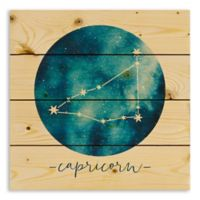Designs Direct Capricorn Zodiac Sign Pallet Wood Wall Art