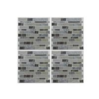RoomMates® Long Stone 4-Pack StickTiles™ in Blue