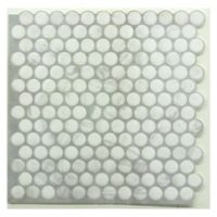 Roommates® 4-Pack Penny Peel & Stick StickTILES in White