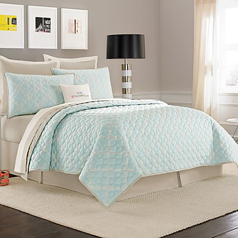 kate spade new york Charles Street Quilt, 100% Cotton - Bed Bath ...