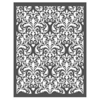 Imperial Damask Stencil Wall Decal