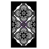 Millicent Lace Stencil Wall Decal