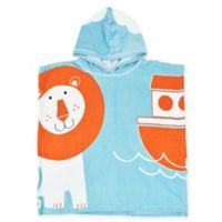 Splash About Noah's Ark Children's Hooded Poncho Towel