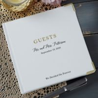 Ultimate Personalized Wedding Guest Book