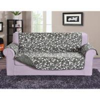 Leaf Sofa Protector in Grey