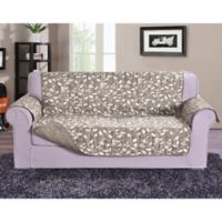 Leaf Sofa Protector in Cream