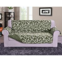 Leaf Sofa Protector in Sage