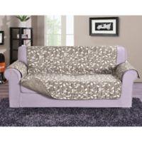 Leaf Oversized Sofa Protector in Cream