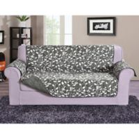 Leaf Oversized Sofa Protector in Grey