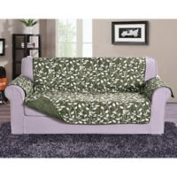 Leaf Oversized Sofa Protector in Sage