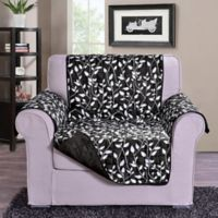Leaf Chair Sofa Protector in Black