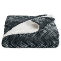 Great Bay Home Ceilo Reversible Throw Blanket