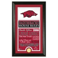 University of Arkansas House Rules Coin Photo Mint