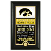 University of Iowa House Rules Coin Photo Mint