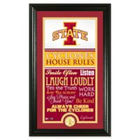 Iowa State University House Rules Coin Photo Mint