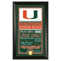 University of Miami House Rules Coin Photo Mint