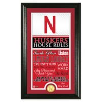 University of Nebraska House Rules Coin Photo Mint