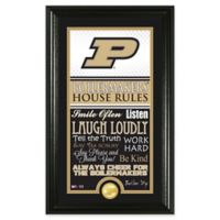 Purdue University House Rules Coin Photo Mint