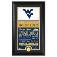 West Virginia University House Rules Coin Photo Mint