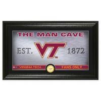 Virginia Tech Man Cave Bronze Coin Photo Mint