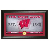 University of Wisconsin Man Cave Bronze Coin Photo Mint