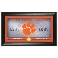 Clemson University Man Cave Bronze Coin Photo Mint