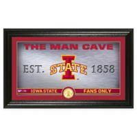 Iowa State University Man Cave Bronze Coin Photo Mint